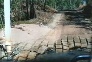 Rough bush tracks