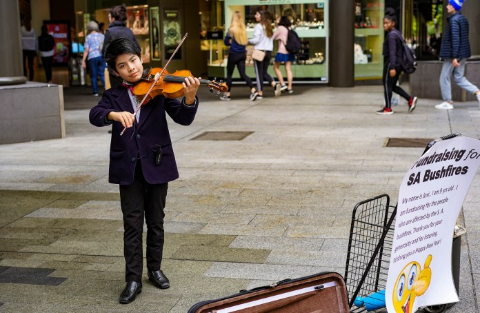Adelaide buskers