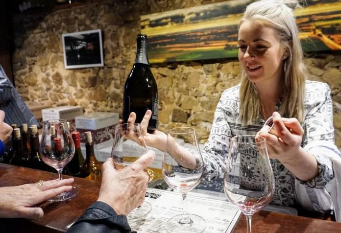 Wine tasting in the Barossa Valley