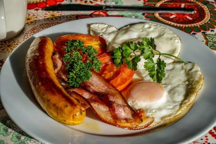 Vacy Hall breakfast