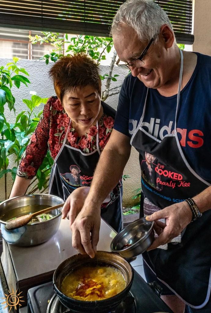 Cocina casera Pearly Kee