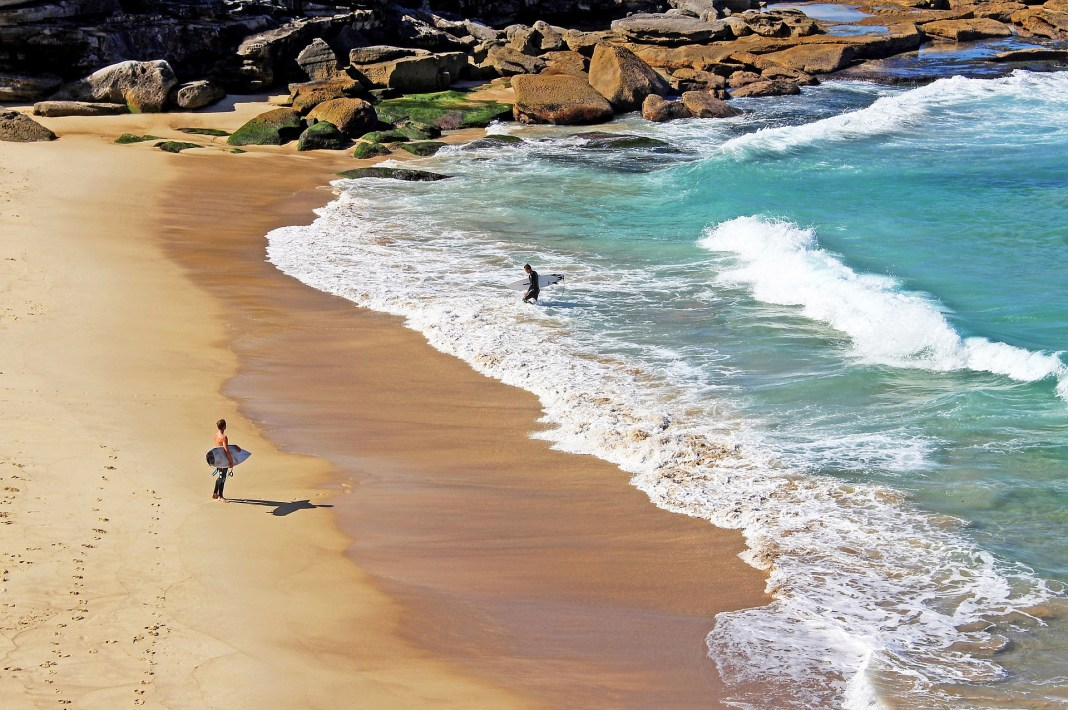 Lingering Surfers
