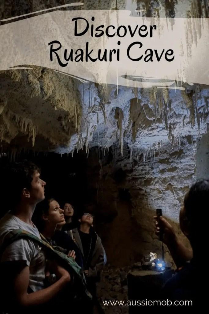 Discover Ruakuri Cave at Waitomo