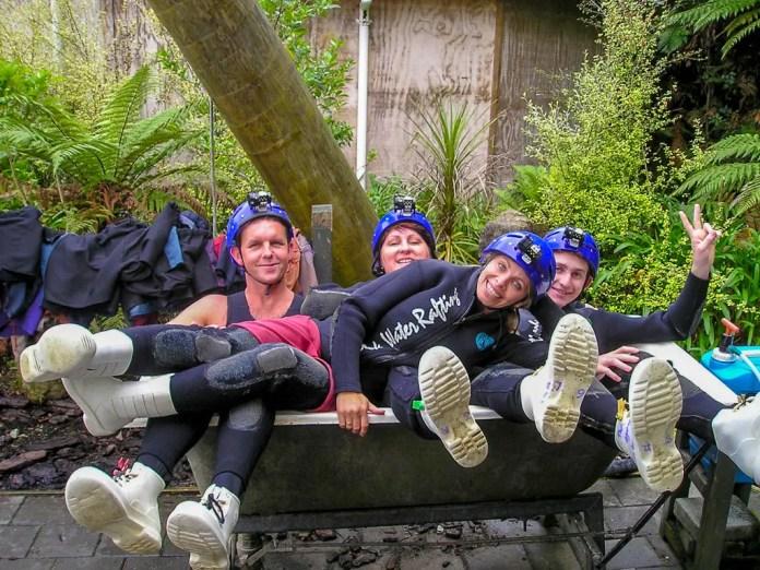 Waitomo Black Water Rafting