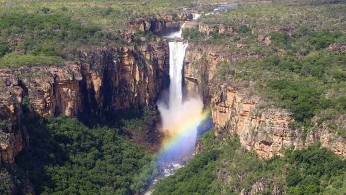 Jim Jim Falls in Kakadu National Park