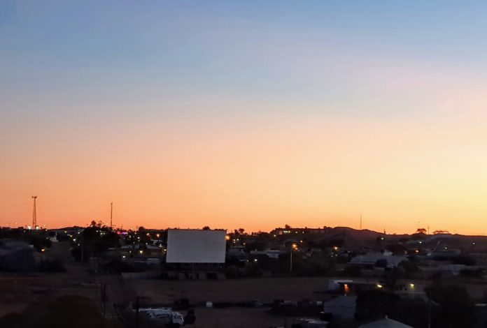 Drive-in Movies at Coober Pedy