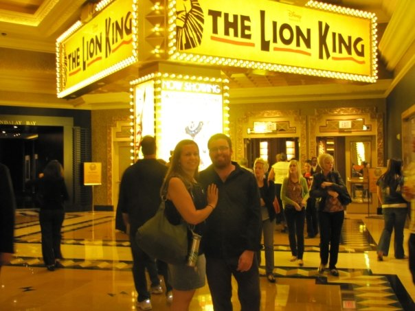 lion king las vegas luxor