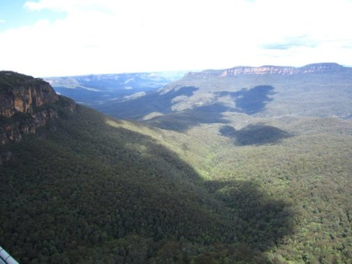 Stunning views in the Blue Mountains
