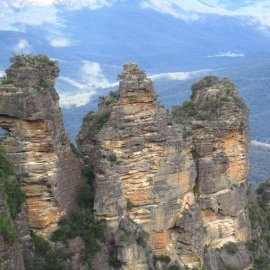 The Three Sisters are an iconic Aussie landmark.