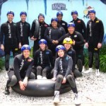 Rafting Waitomo's Black Labyrinth