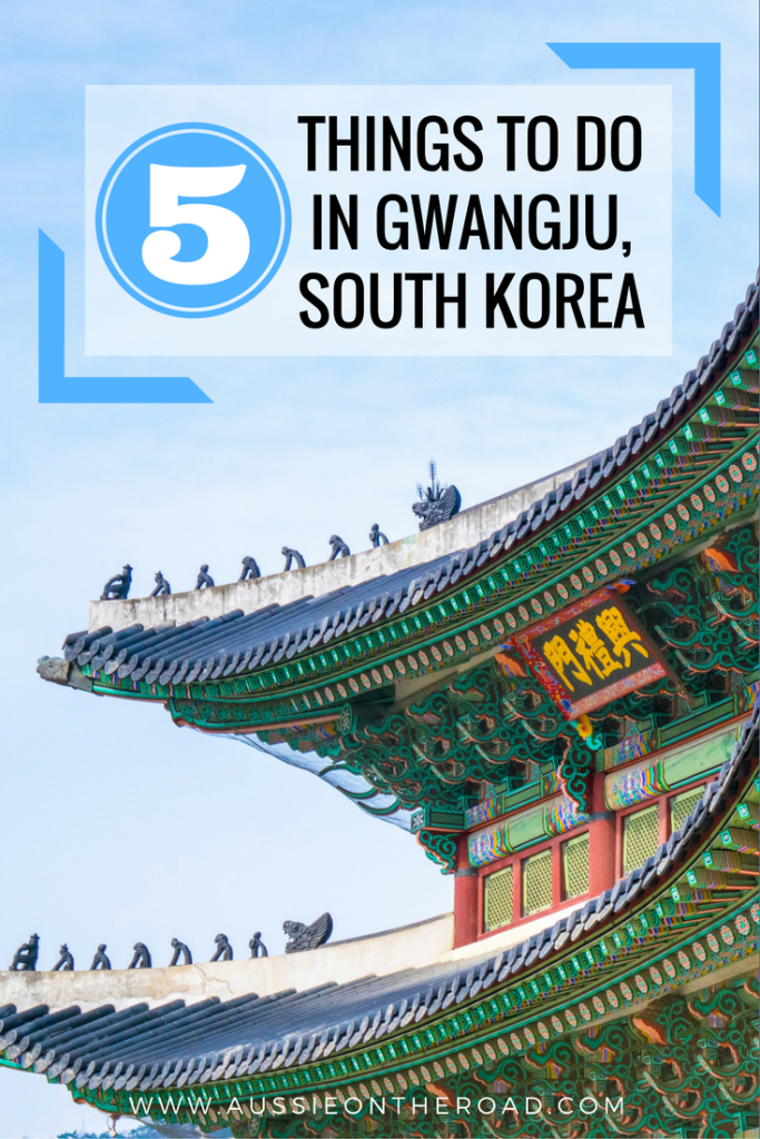things to do in gwangju