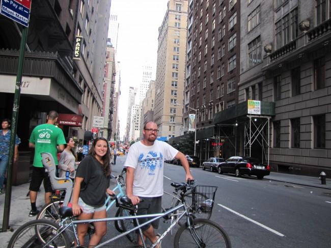 tandem bike new york city