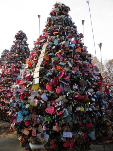 Locks at Namsan Tower