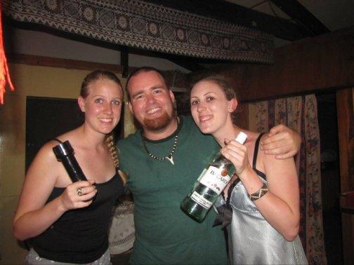 Drunk girls in Fiji
