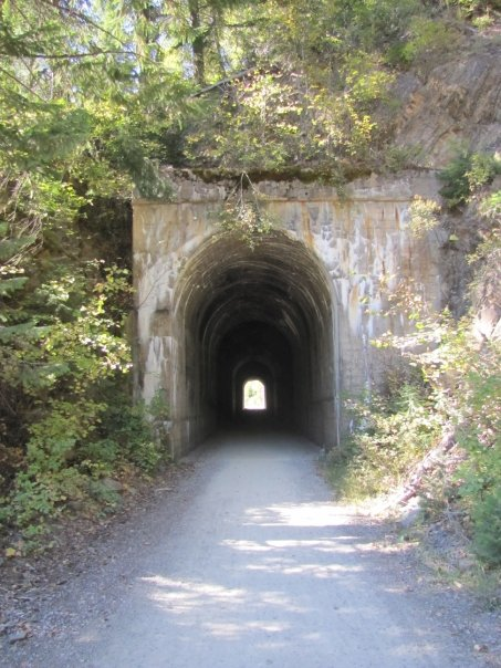 a tunnel route of the hiawatha
