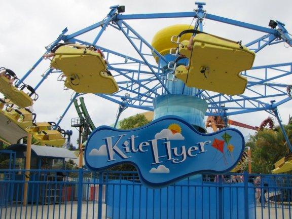 Kite Flyer at Dreamworld