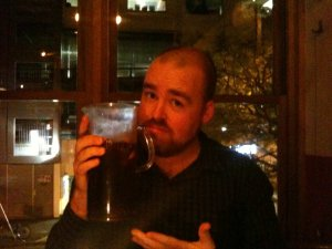 A man with some sangria