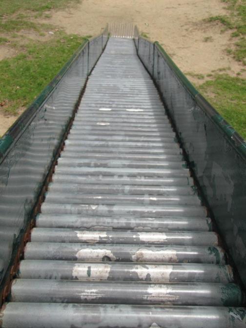 painful slide