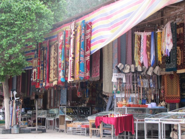 Carpets in Kashgar