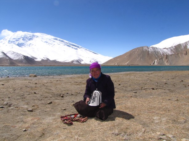 A nomad at Lake Karakul