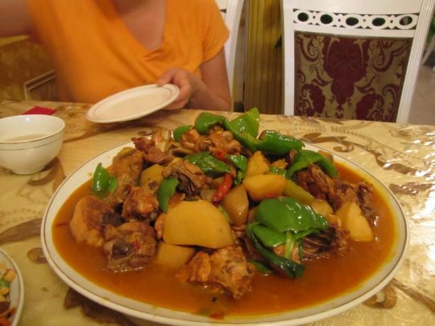 big plate chicken