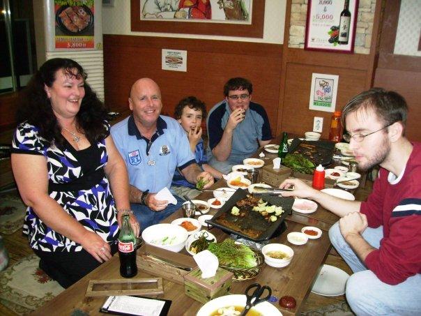My family in South Korea