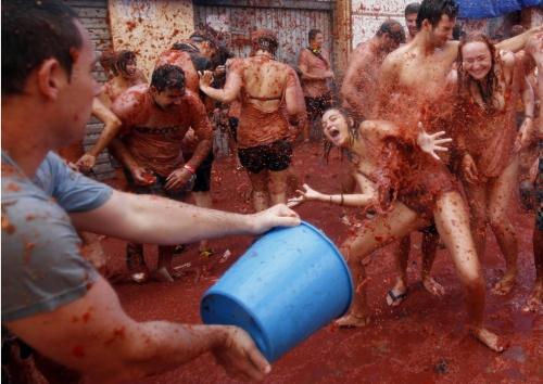 La Tomatina Festival, Spain