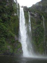 Waterfall Milford Sound