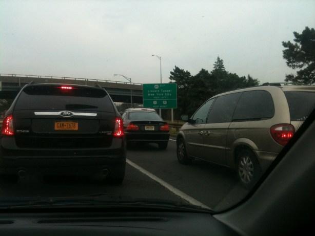jersey tunnel traffic