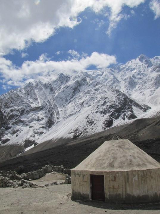 A yurt along the Karakorum Highway, Xinjiang