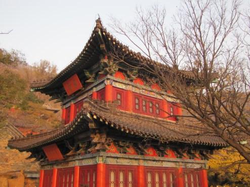 A pagoda on HuaGuo Mountain, Lianyungang