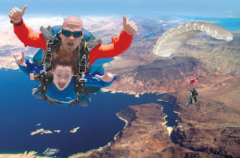 skydiving vegas