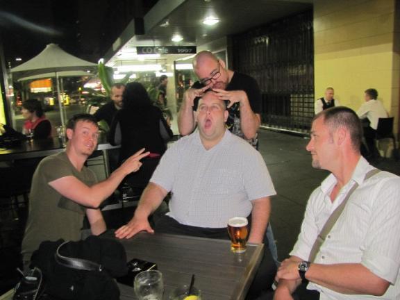 Farewell drinks in Sydney