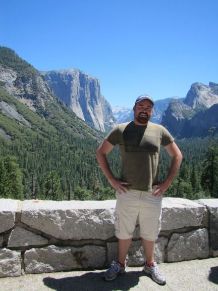 Standing at Yosemite