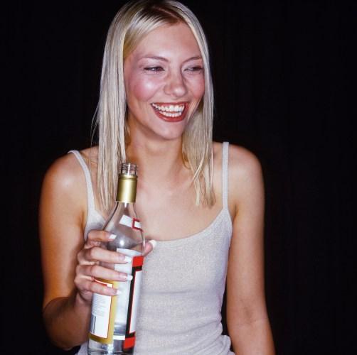 girl vodka
