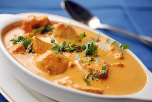 Butter chicken. As tempted as you might be to use it in foreplay, it's probably best left out of the bedroom.