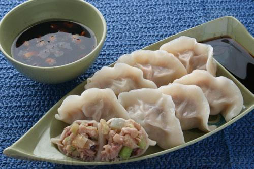 The humble dumpling. It might not be exotic, but it's almost always awesome.