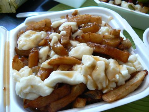 This may look like the 'after' shot of a poutine meal, but it's the before and it's so, so good.