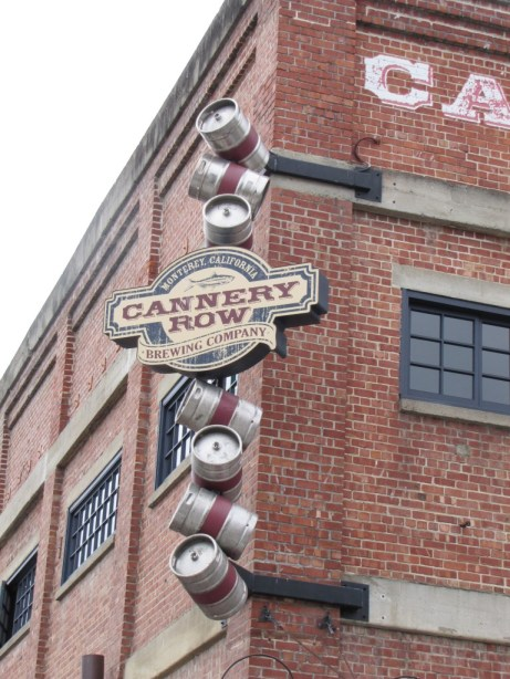 The iconic Cannery Row Brewing Company. A pretty fantastic sports bar and watering hole.