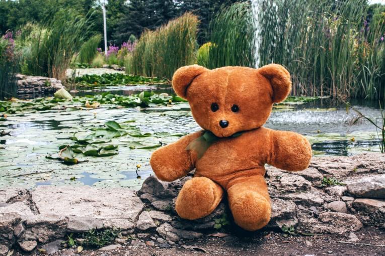 travel gifts teddy bear