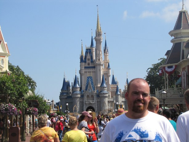 Fulfilling a childhood dream by visiting Disney World.