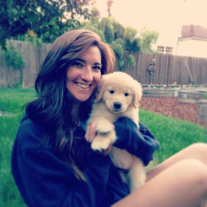 Aw, puppy love!