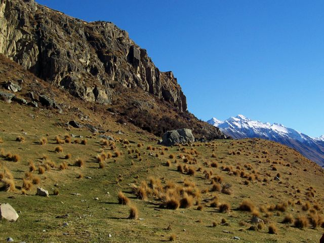 'Edoras' the home of the Horse Lords and much of the action from the Two Towers. Photo by A Dangerous Business.
