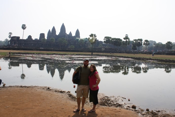 Nomadic American and I fulfill a lifelong travel dream by visiting Angkor Wat. Stunning!