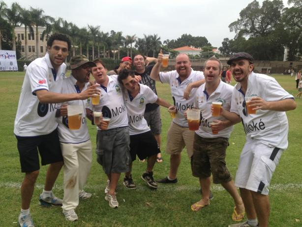 Cricket was my social highlight for two years in Nanjing.