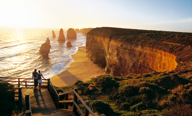 The Twelve Apostles, as seen from the Great Ocean Road. Just stunning. Photo from National Geographic.
