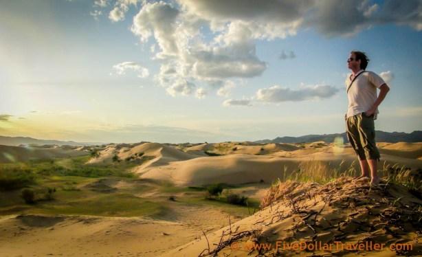 Gobi Sand Dunes Mongolia