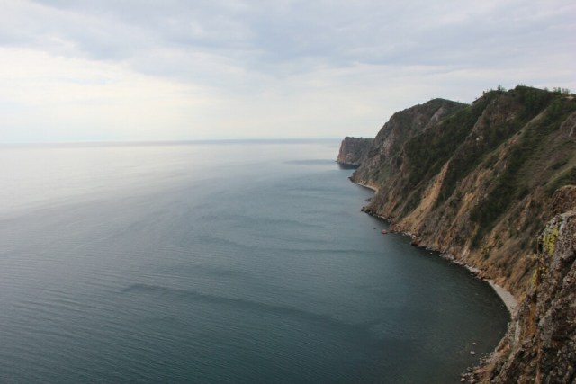 The stunning Lake Baikal, as photographed by Tony of It's Good Overseas.