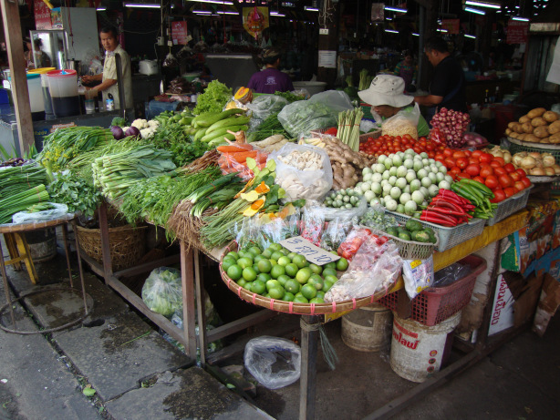 The sights, tastes, and smells of a local market are a real window into local life.