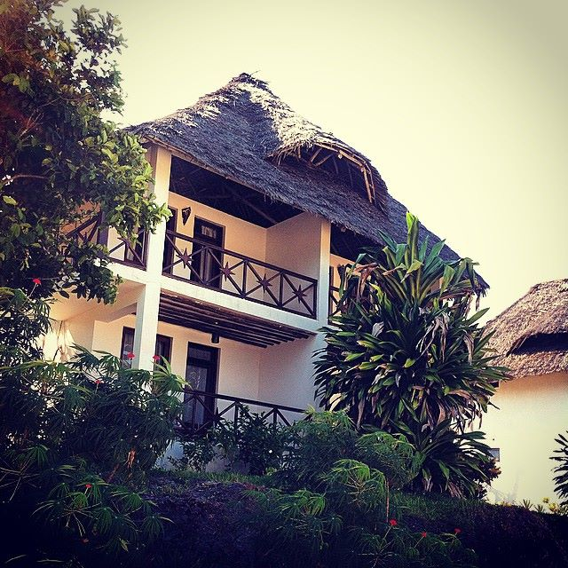 My accommodation for my time in Chwaka Bay.